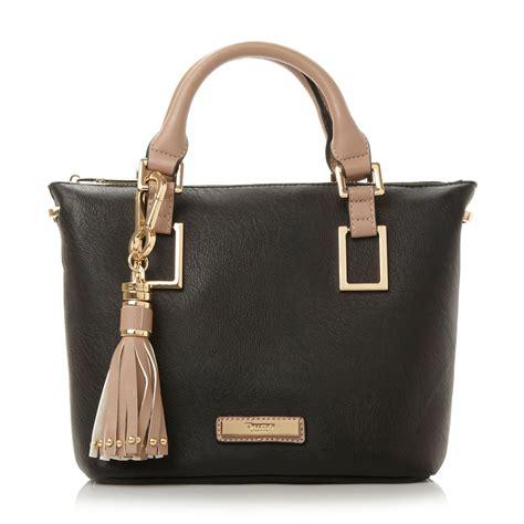 Small Dune Handbag by Dune Dinideloris Mini Top Handle Tote Bag In Black Lyst