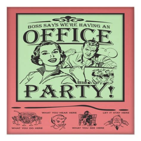funny holiday party invitation wording funny office party 5 25x5 25 square paper invitation card
