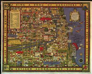 chicago map 1930 1931 gangster map of chicago petros