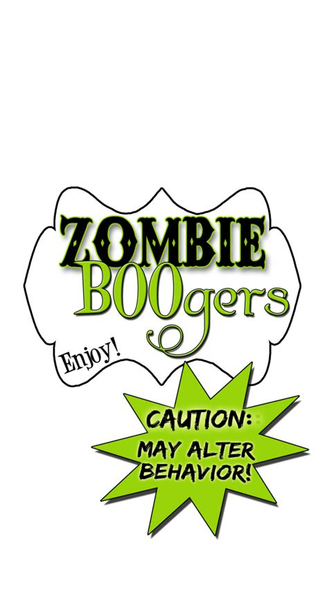printable zombie labels zombie free printable labels just b cause