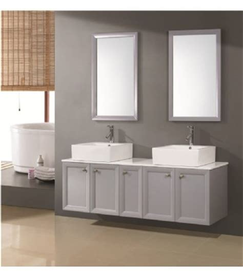 double sink basin for bathrooms contemporary double basin bathroom furniture d740 from