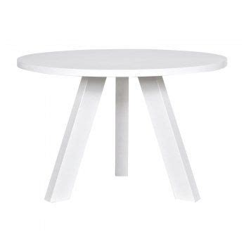 witte ronde eettafel witte eettafel stek vestal 129 rond ronde eettafel wit