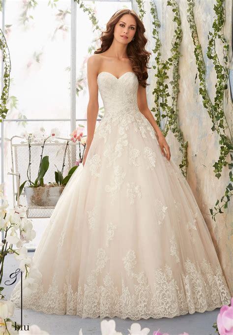 Wedding Dresses Style 2787 by Dress Mori Blue 2016 Collection 5406