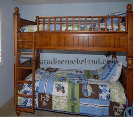 Dipan Susun Kayu Jati tempat tidur tingkat jual mebel jepara