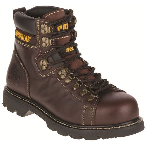 wide width work boots for s 6 quot brown steel toe work boot wide width available