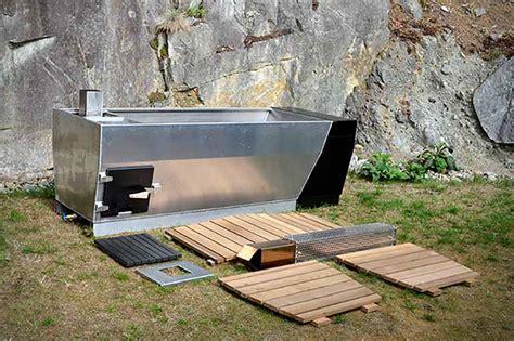 outdoor wood fired soaking tub home design garden architecture magazine