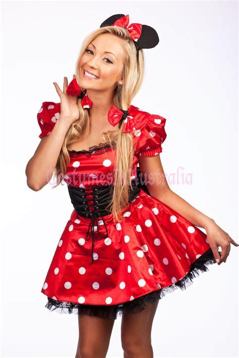 Dress Katun Mini Mouse Import minnie mickey mini mouse costume fancy dress hens disney