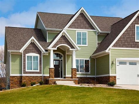 color house exterior brick siding exterior house with vinyl siding