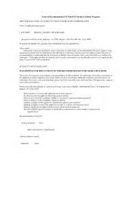 best photos of letter of recommendation nursing