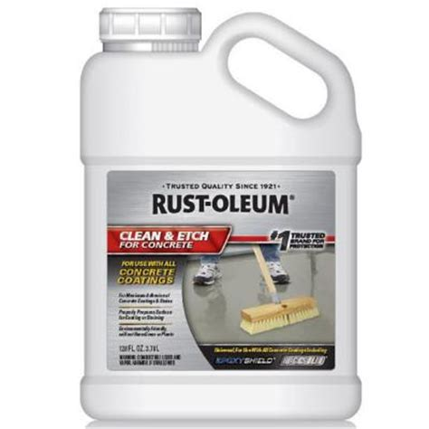 rust oleum 1 gal concrete etch and cleaner 301242 the