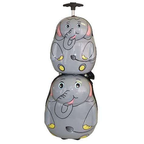Set Kid Tosca 50 on tosca tosca animal trolley and backpack set onedayonly co za