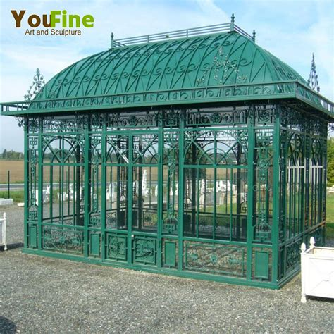 iron gazebo for sale large garden greenhouse wrought iron gazebos for sale