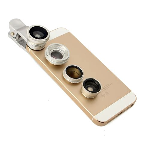 Lesung Clip Filter Fisheye Lensa No 7 For Iphone 44s55s 5in1 clip fisheye wide angle macro cpl filter lens teleconverter for iphone 6 plus smartphone