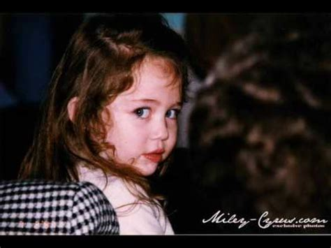 Shes A Baby by Miley Cyrus From Adorable Baby To Gorgeous 14 Year