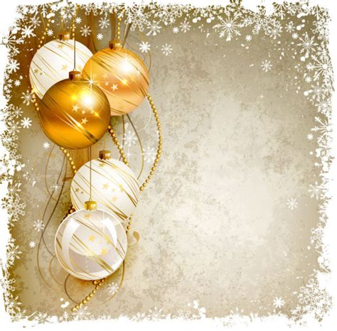 shiny ball with christmas background vector graphics free