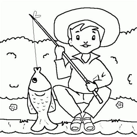 de ni a pescando para imprimir y pintar dibujos para colorear de la dessin de p 234 che 224 la ligne coloriages d 233 t 233 et vacances
