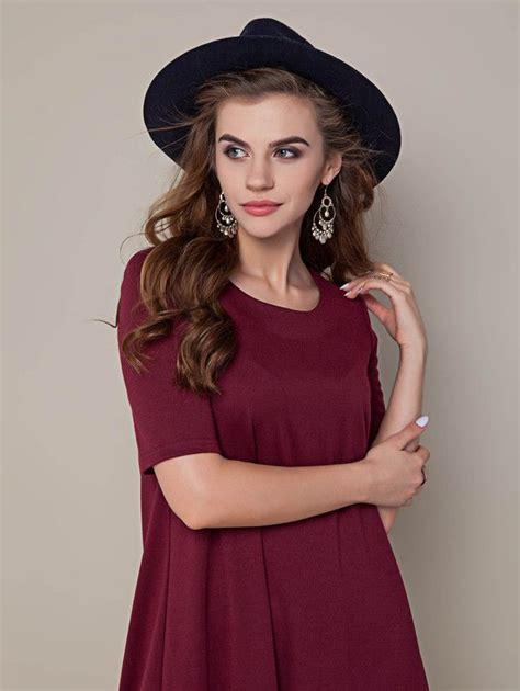 simple  elegant purple dress  unique product