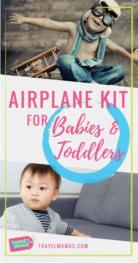 airplane travel gear for babies airplane kit for babies and toddlers