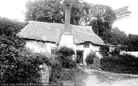 Cottage Minehead by Minehead Cottage At Pemswell 1892 Francis Frith