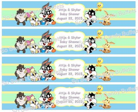 1000 Images About Looney Tunes On Pinterest Baby Shower Parties Free Printable And Free Looney Tunes Invitations Templates