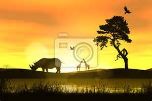 wall murals africa pixersize com african animals wall mural buy at europosters