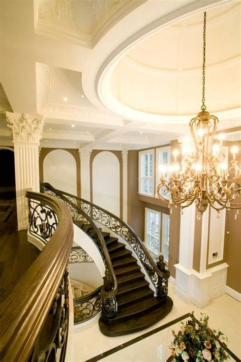 Foyer Stairs Design 247 Best Impressive Entrances Images On Pinterest Stairs Grand Staircase And Homes