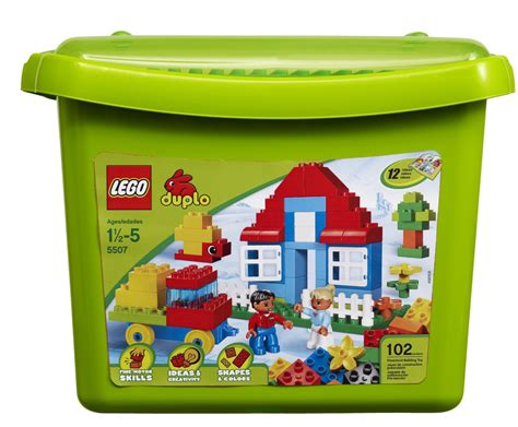 lego box lego duplo bricks more deluxe brick box 5507 lego duplo