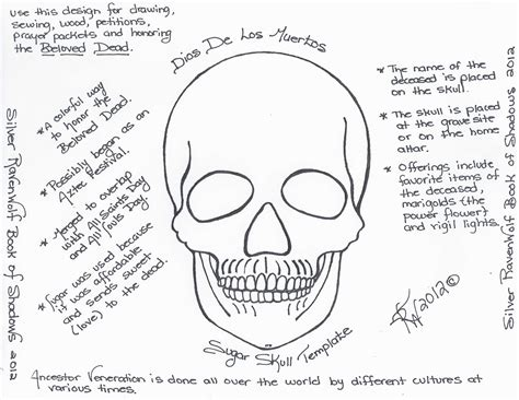day of the dead skull template 301 moved permanently