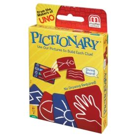 Pictionary Frame By Mattel pictionary mattel