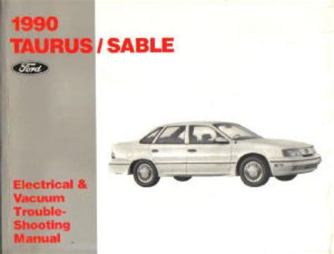 motor auto repair manual 1990 ford taurus electronic toll collection 1990 ford taurus shop manual