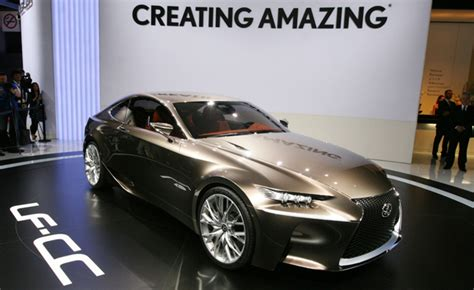 Lexus Gs Coupe by Lexus Gs Coupe Or Is Coupe Previewed In Lf Cc Concept