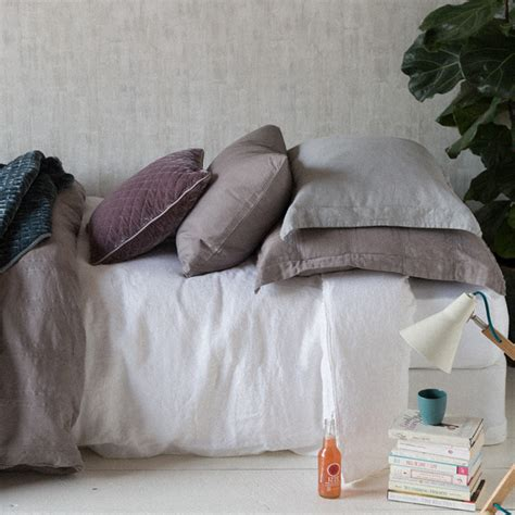 What Is A Pillow Sham by Linen Pillow Sham With Self Flange By Notte Linens