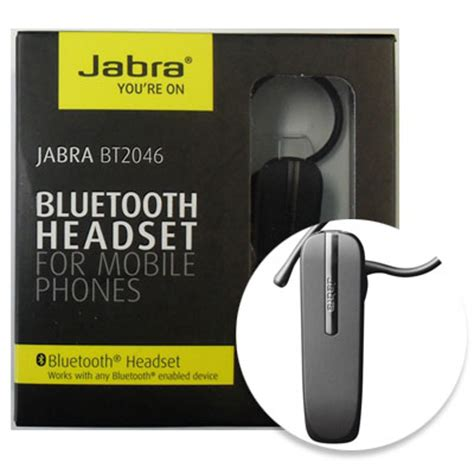 Headset Bluetooth Jabra 2046 Original jabra bt 2046 bluetooth headset
