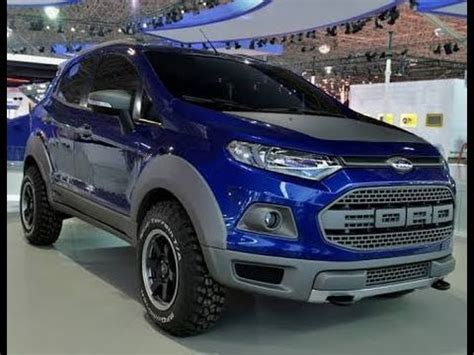 top best modified ford ecosport 2017 car guru youtube