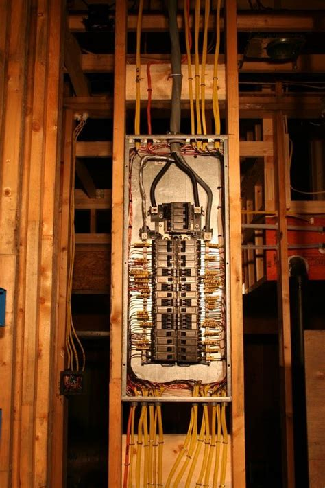 electrical panel installation picture home electrical