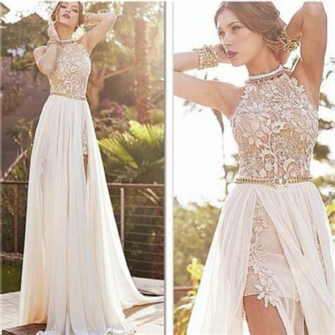 white lace prom dress prom dresses white lace dresses