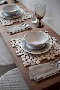 Elegant multi color stone placemats home designing