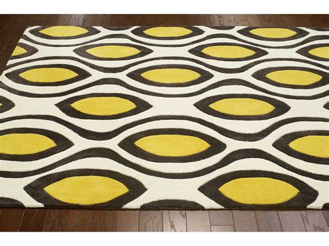 lemon rug nuloom cine lemon rectangular area rug nuacr201a