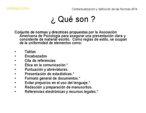 Resumen O Abstract Definicion by Normas Apa Para Elaborar Trabajos De Investigaci 243 N
