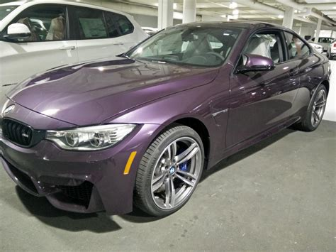 bmw m4 colors bmw m4 in daytona violet individual color