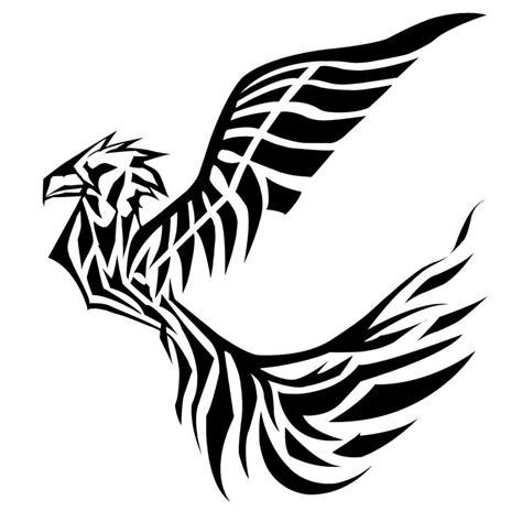 tribal phoenix tattoos designs images designs