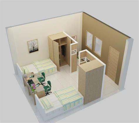 Interior Satu Set Kamar Anak sketsa kamar rumah minimalis untuk dua anak jualbogor