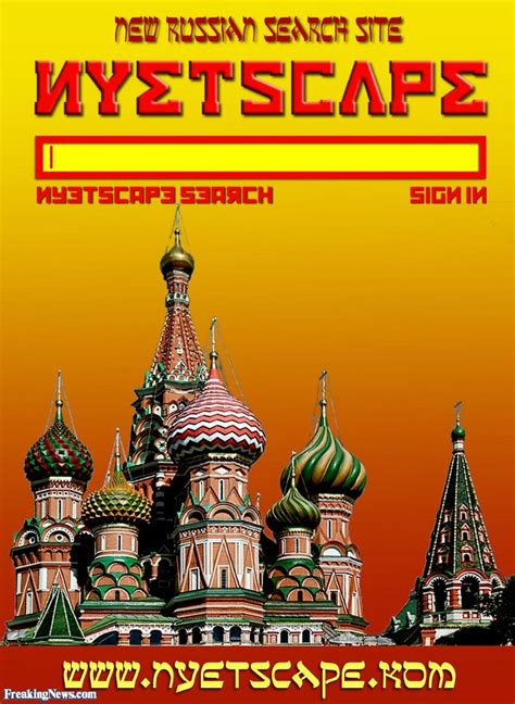 Russian Search Nyetscape New Russian Search Site Pictures Freaking News