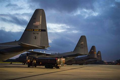 west virginia air national guard provides critical support for hurricane relief operations