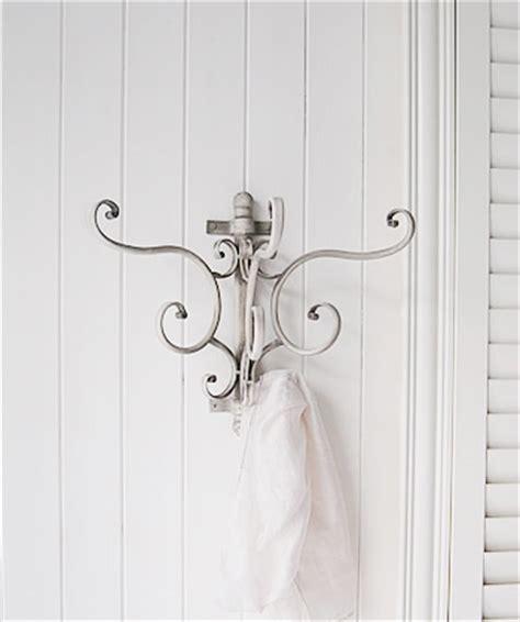 Bathroom Wall Hooks by Grey Bathroom Wall Hooks Coastal White Bathroom