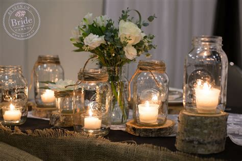 fall wedding decorations with jars ca fall wedding a diy with rustic flair