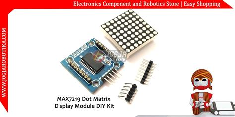 Harga Dot Matrix 8x8 jual max7219 dot matrix display module diy kit