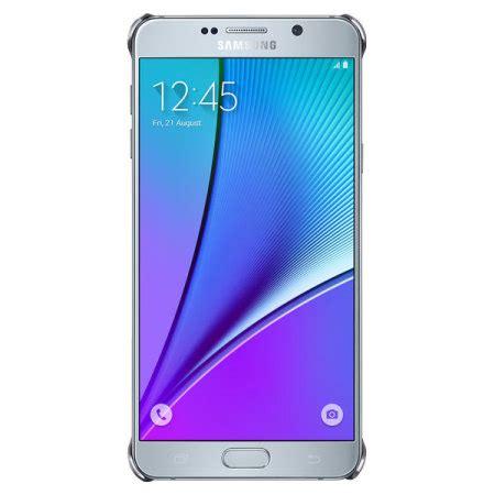 Clear Cover Samsung Galaxy Note 5 Original original samsung galaxy note 5 clear cover h 252 lle in silber