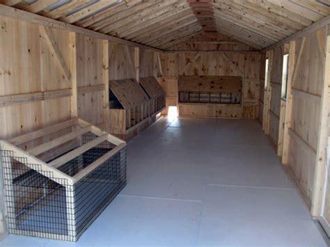 Chicken House Floor by Backyard Chicken Coop Horizon Structures