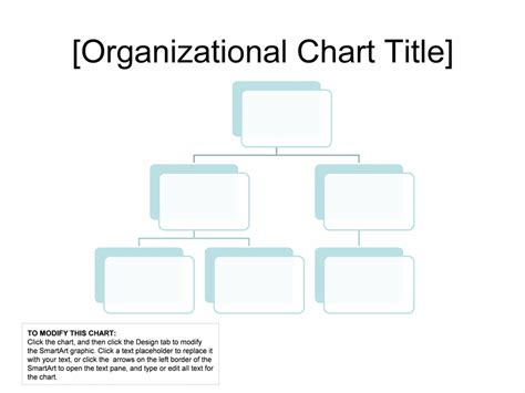 Organizational Chart Simple Basic And Easy Layout Chart